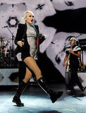 Gwen Stefani put on an action-packed show in LA.