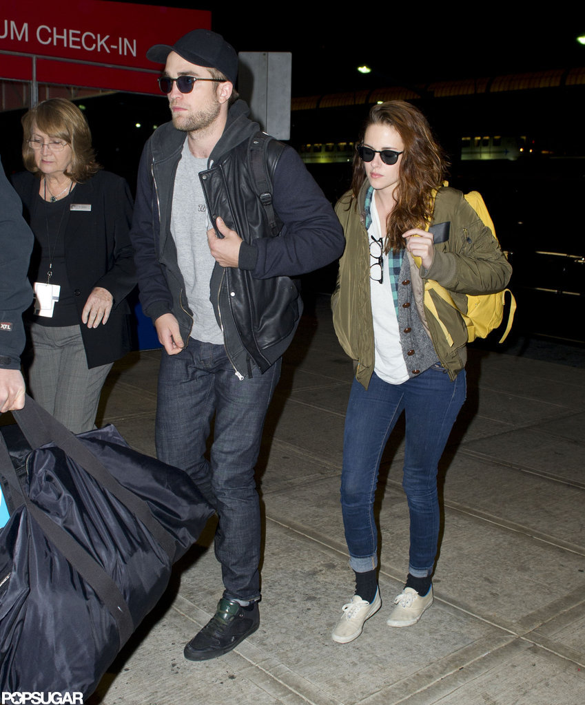 Kristen Stewart and Robert Pattinson were side by side in NYC.