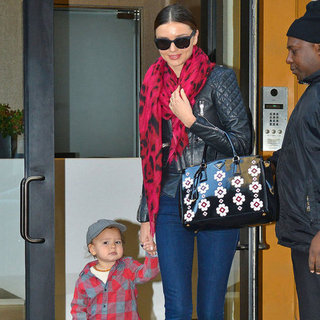 Miranda Kerr Holding Hands With Flynn in NYC | Pictures