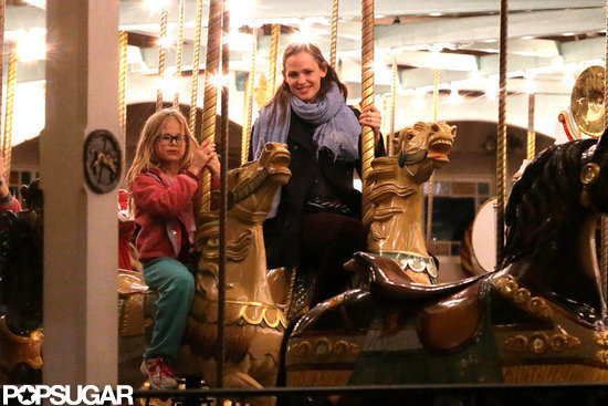 Jennifer Has a Girls' Night Out With Violet and Sera in New Orleans
