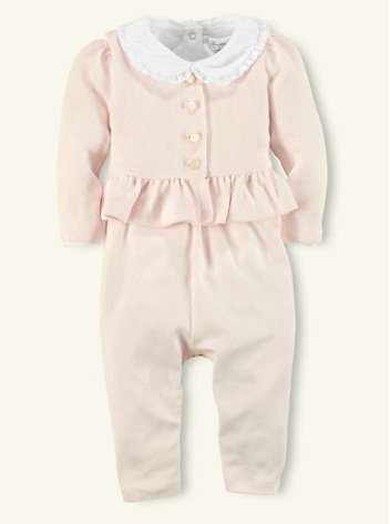 Ralph Lauren 3-Piece Overall Set