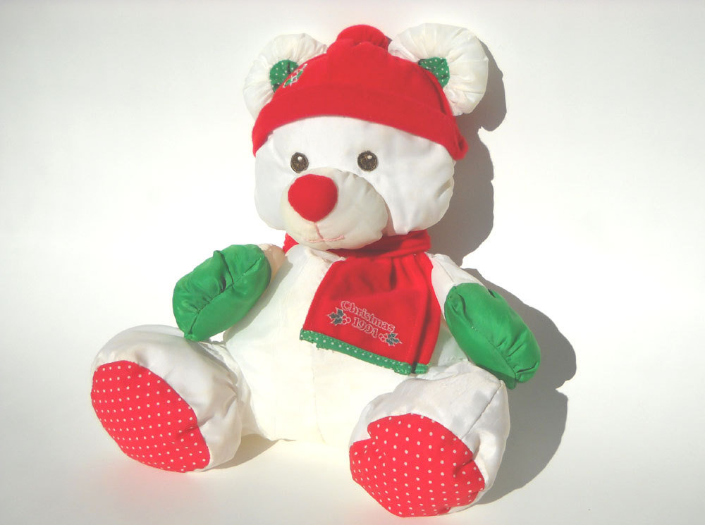 Christmas Puffalump Bear