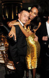 Jonathan Saunders and Jourdan Dunn