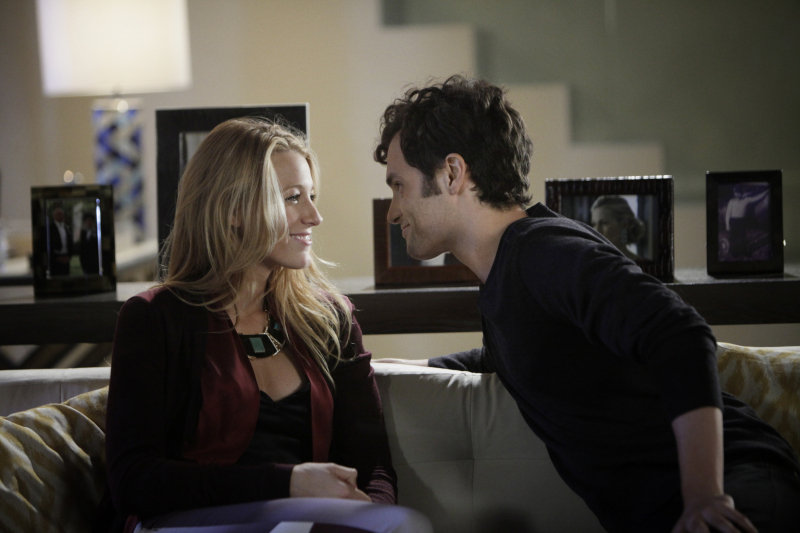 Least-Anticipated Reunion: Serena and Dan on Gossip Girl