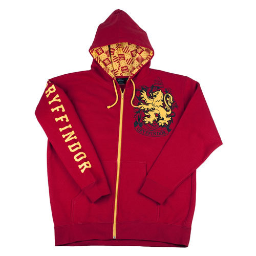 Harry Potter Gryffindor Hooded Sweatshirt ($60)
