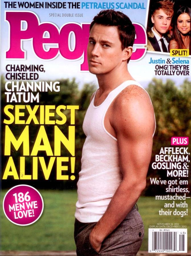 Most Well-Earned Title: Channing Tatum as Sexiest Man Alive