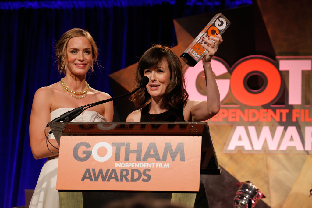 Emily Blunt and Rosemarie DeWitt took the stage together.