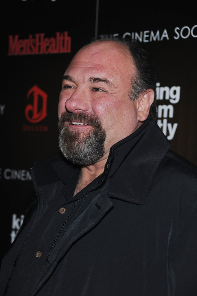 James Gandolfini stepped out in NYC for the screening of Killing Them Softly.
