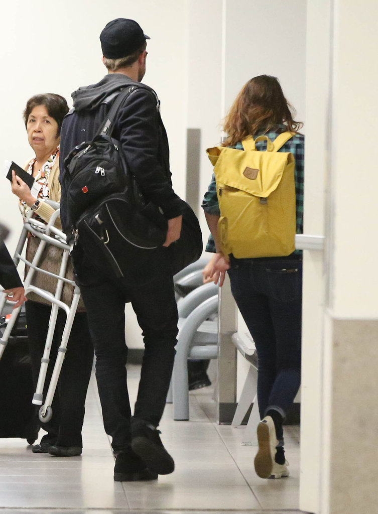 Robert Pattinson and Kristen Stewart landed in LA.