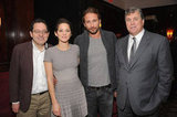 Marion Cotillard Lunches With Her Sexy Rust and Bone Costar