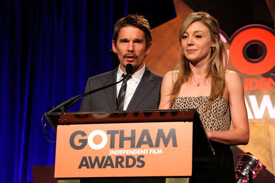 Ethan Hawke and Juliet Rylance presented at the Gotham Independent Film Awards in NYC.
