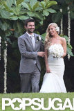 Brandon Jenner and Leah Felder celebrated their June nuptials in Hawaii.