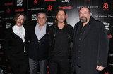 Brad Pitt posed on the red carpet with Ben Mendelsohn, Vincent Curatola and James Gandolfini.