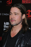 Brad Pitt promoted his latest film Killing Them Softly at a screening in NYC.