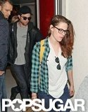 Rob and Kristen Return to LA Together