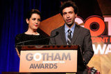 Melanie Lynskey and Alex Karpovsky linked up to present at the Gotham Independent Film Awards.