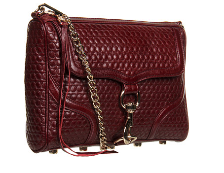 As you probably already know, burgundy is the hue of the season, so don't let your sister miss out on the biggest color trend. Get her this Rebecca Minkoff burgundy bag ($280-$330). We don't know what she'll love more — the color or the woven detail!