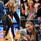 Beyoncé's Courtside Appeal Is a Spectator Sport All Its Own