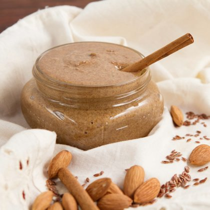 Cinnamon Flax Almond Butter Recipe
