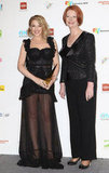 2011: Kylie Minogue and Julia Gillard