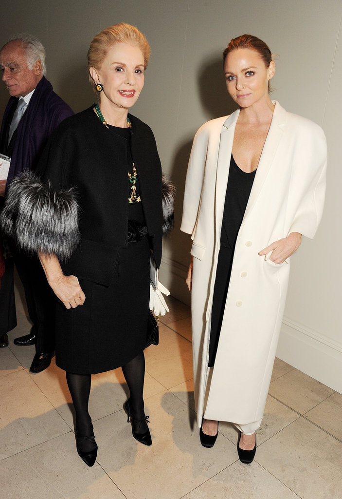 Carolina Herrera and Stella McCartney