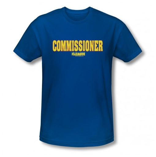 Commissioner T-Shirt ($27)