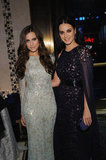 Allison Williams and Katy Perry attended the Unicef Snowflake Ball in NYC.