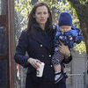Jennifer Garner and Samuel Affleck in New Orleans | Pictures