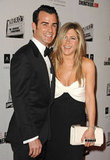 In November, Jennifer Aniston and Justin Theroux were all smiles together on the red carpet at the American Cinematheque Awards in LA.