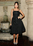 Ashley Madekwe donned a party-perfect LBD with a sweet retro feel.