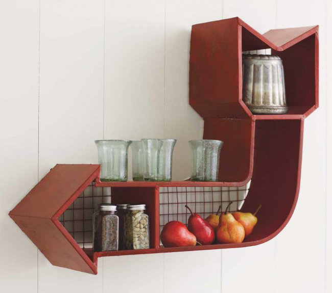 Retro Arrow Shelf