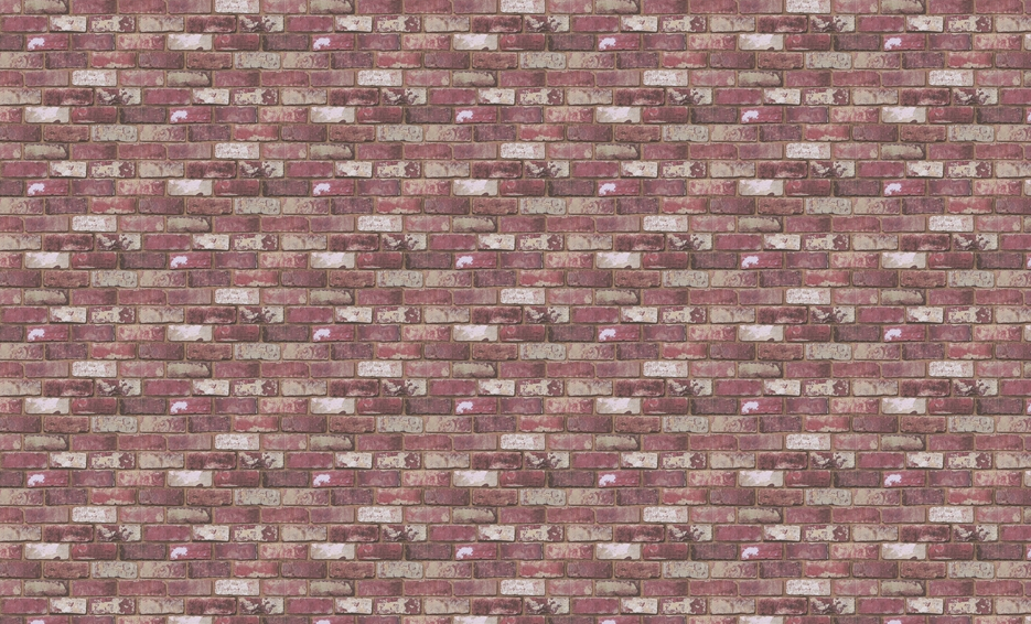 Not everyone's fortunate enough to have a place with cool red brick walls, but luckily there's wallpaper ($60) to mimic the look.