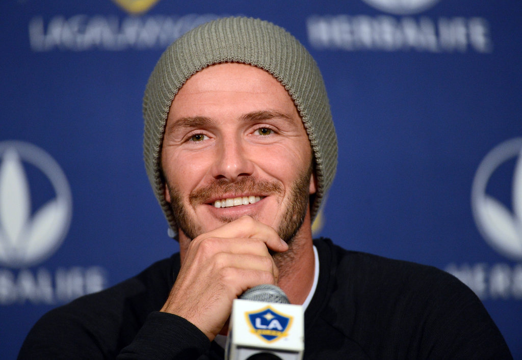 David Beckham Speaks to Press and Preps For His Final LA Galaxy Game