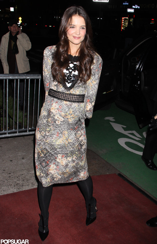 Katie Holmes attended the Dead Accounts after party in NYC.