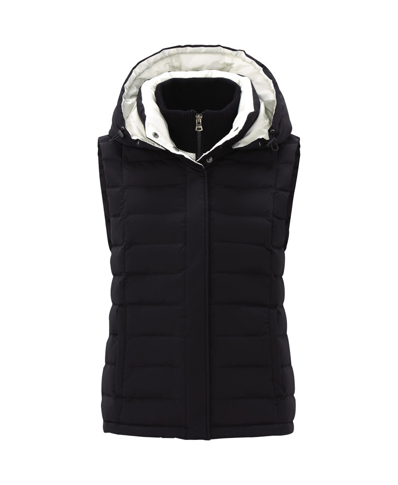 We're all about a chic puffer vest these days (yes, they do exist!), and this Uniqlo x Theory premium down vest ($100) definitely hits all the cool-girl requisite points.