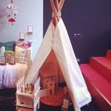 Six-Foot Canvas Teepee