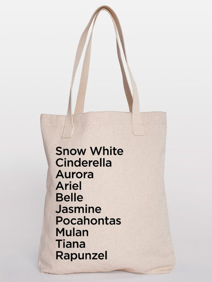 Princess Names Tote