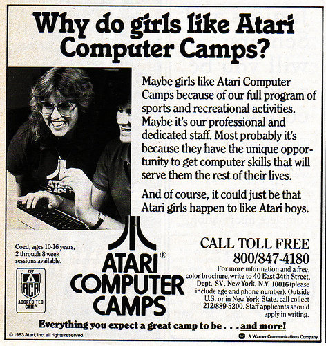Girls like computers, too! Who knew?