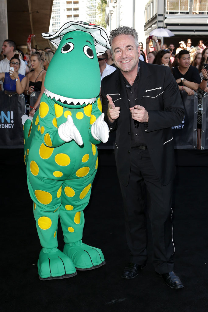 Dorothy the Dinosaur and Paul Field