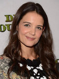 Katie Holmes smiled for photos in NYC.