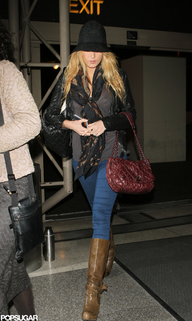 Blake Lively walked in LA.