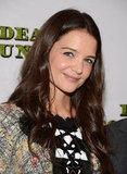 Katie Holmes stepped out to celebrate the opening night of Dead Accounts in NYC.