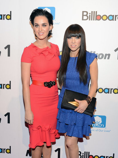 Katy Perry linked up with Carly Rae Jepsen for Billboard's Women in Music event in NYC.