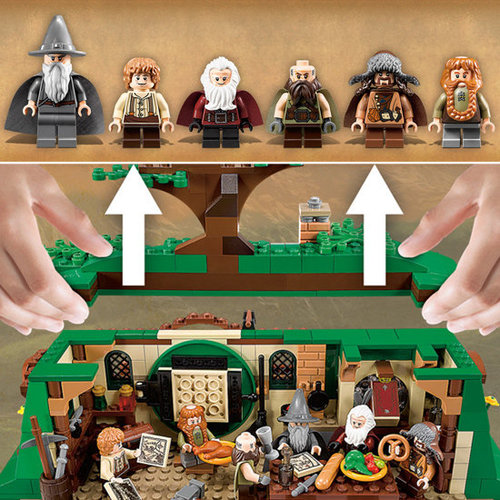 The Hobbit: An Unexpected Journey Lego Set