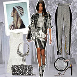 Embrace the chill in metallics this Winter.