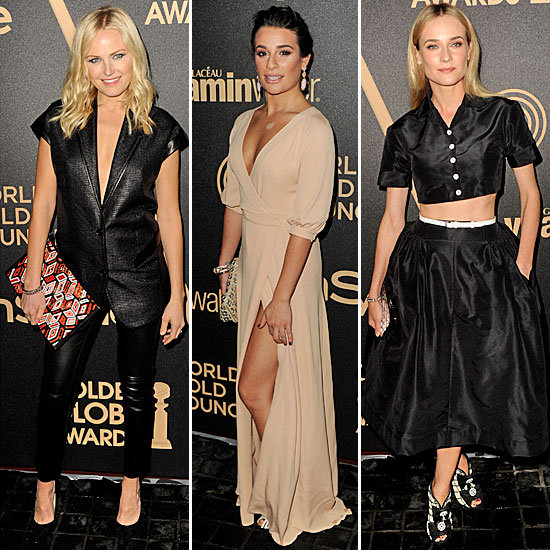 Diane Kruger, Lea Michele, and More Glam Up to Fete Miss Golden Globe