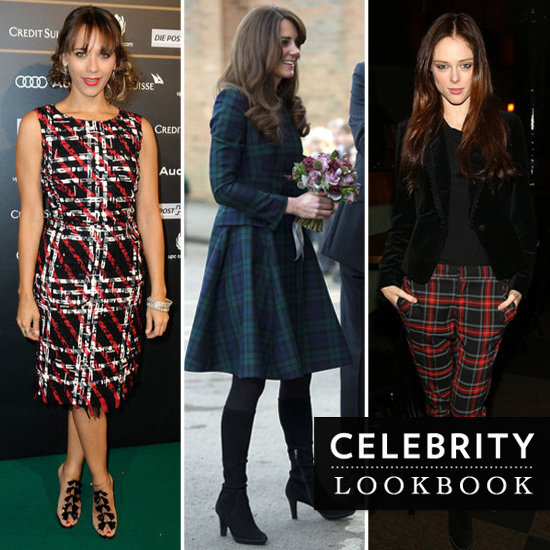 Celebrities Wearing Plaid | Fall 2012