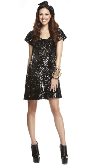 More of Me Sequin Party Dress