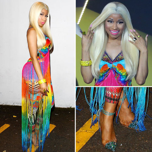 Pics of Nicki Minaj in Camilla Outfit at the 2012 ARIAs