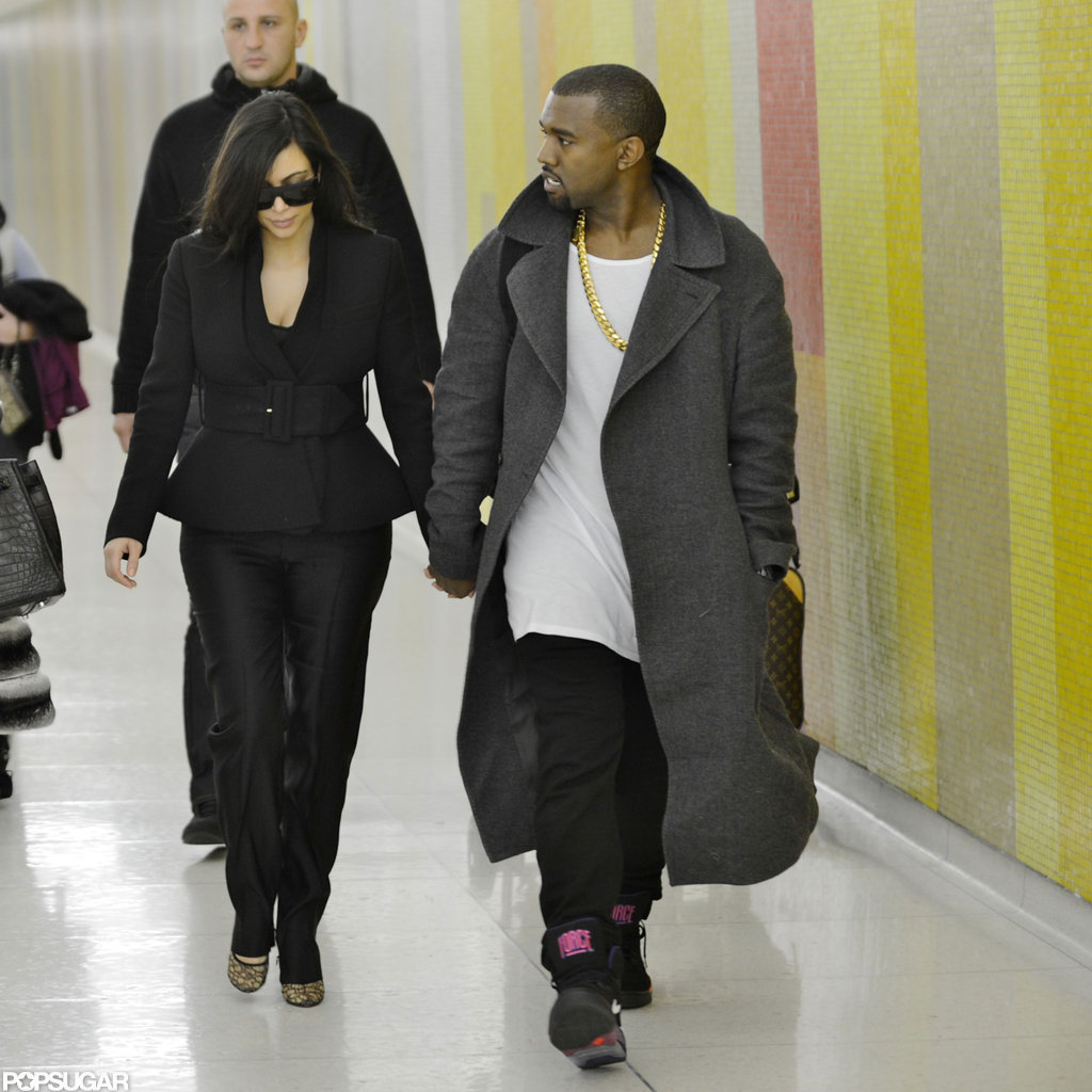 Pregnant Kim Kardashian and Kanye West Show Love After Their Big Announcement
